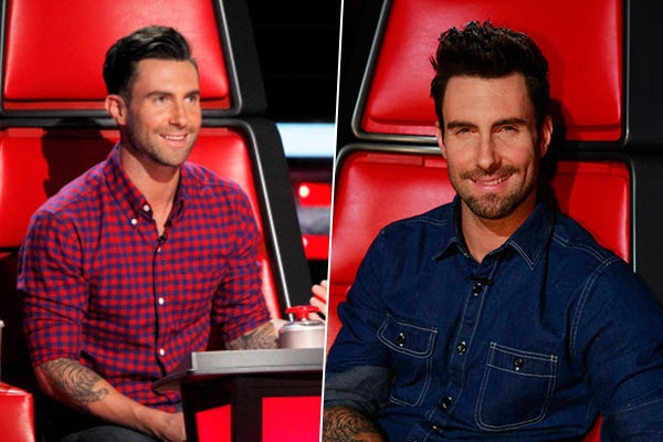 Adam levine style at reality television