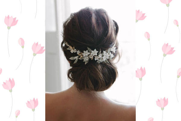 Incredible How To Add Flowers To Your Bun Hairstyle Bebeautiful Schematic Wiring Diagrams Phreekkolirunnerswayorg