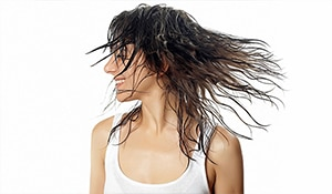 Air-dry, don't blow-dry in summers! Your hair will thank you...