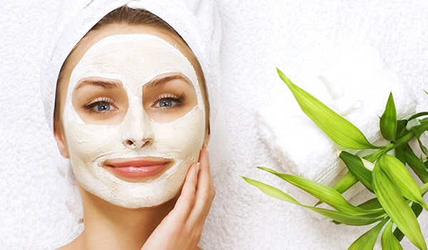 Aloe vera based skin tightening face mask