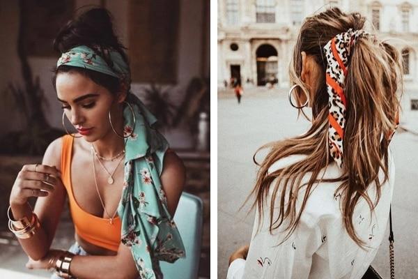 Bufandas para el cabello