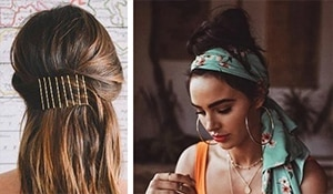 Amp-up your spring hair game by sporting these flirty accessories