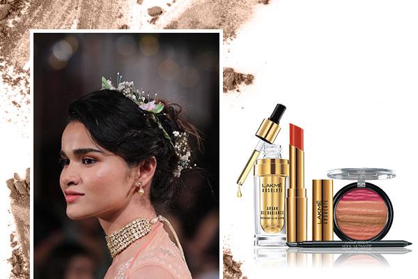Anita Dongres Bridal Makeup Look From Lakme Fashion Week SR 2018