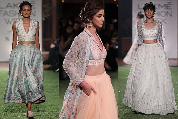 007c126173fe Lakmé Fashion Week S R 2018 - Anita Dongre s Summer Bridal ...