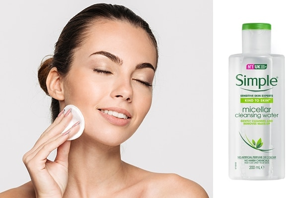 Get rid of the day's buildup on your skin