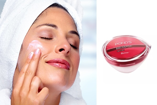 Moisturise before hitting the bed