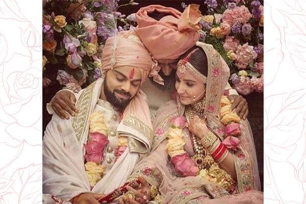 Virat Kohli Anushka Sharma Are Married Bebeautiful