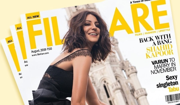 Anushka Sharma's minimal smokey eye look on this Filmfare cover is winning the internet
