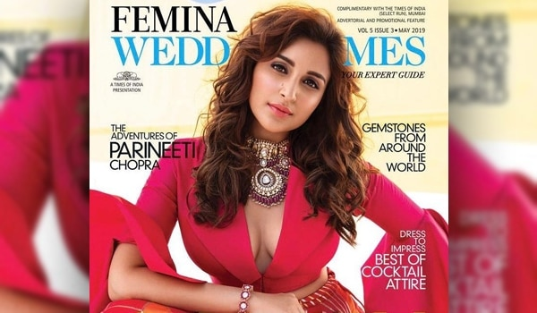 Boss Bride - Parineeti Chopra on the Femina Wedding Times May cover
