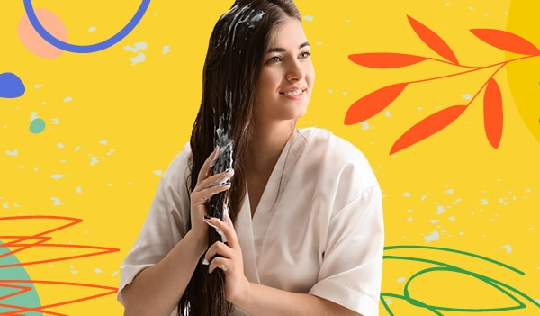 How to give yourself a deep conditioning hair spa at home