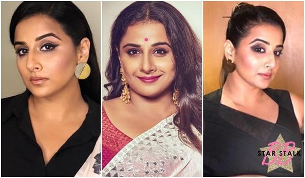 BB Star Stalk: Saree makeup ideas we learned from Vidya Balan
