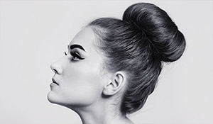 Work up a perfect ballerina bun with these simple steps