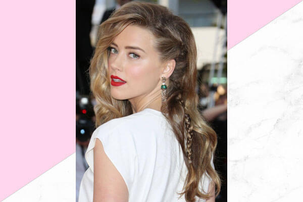 Beach waves hairstyle for this Valentines Day