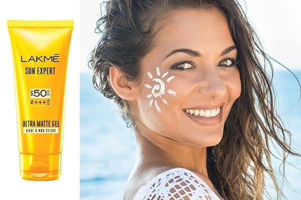 Keep sunscreen handy