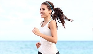 Beauty benefits of jogging an hour every day