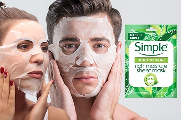Sheet masking with bae—best plan ever!