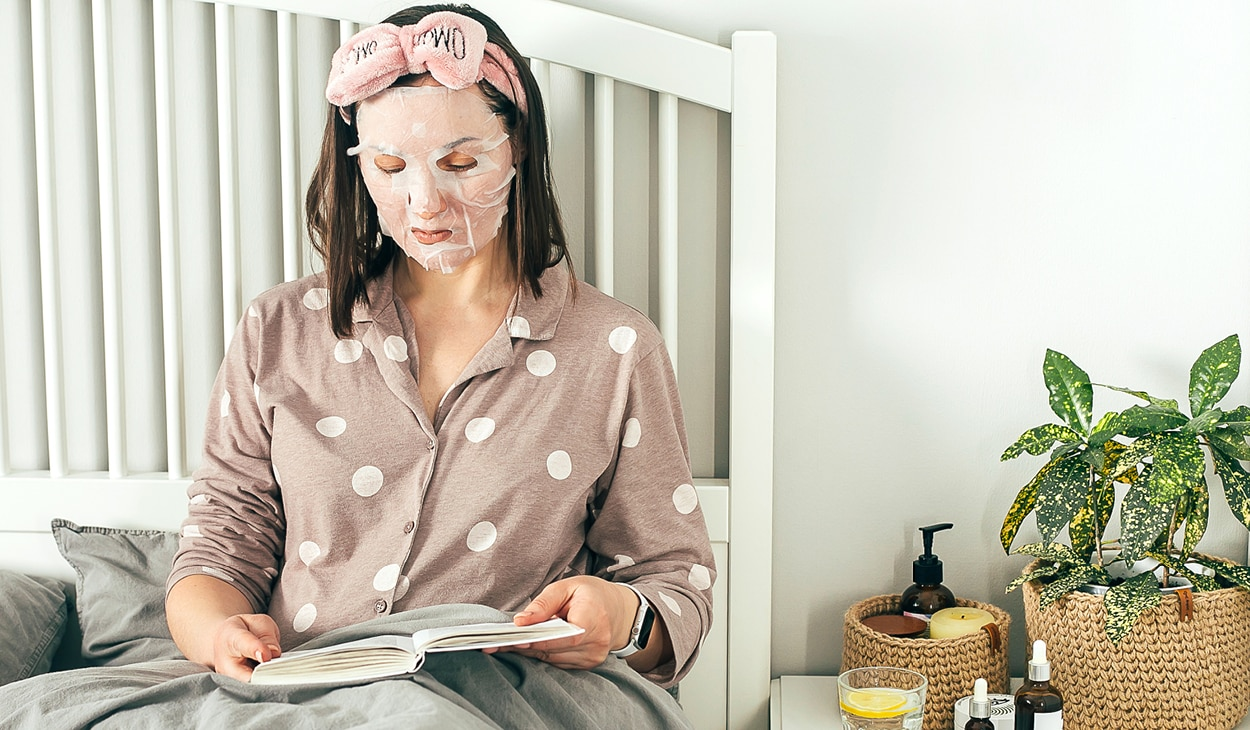 Here's why a sheet mask is a good addition to your night-time skincare routine