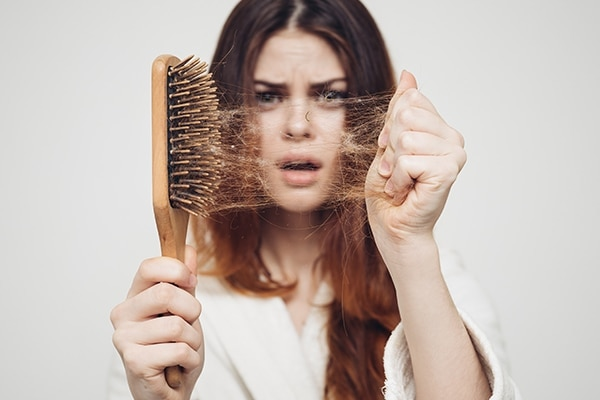 Brushing wet hair is a complete no-no