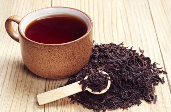 Black tea rinse