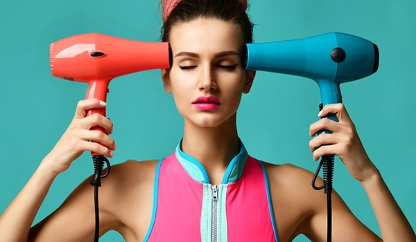 IS BLOW DRYING YOUR HAIR A BAD IDEA?