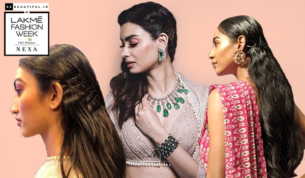LFW WF'19: Your favourite hair accessory, the bobby pin, is now a major runway trend!