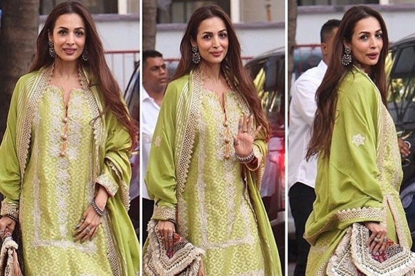 Malaika Arora Khan – hair left natural and loose