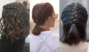 Braid your bobs—These braids for short hair are all you need this summer