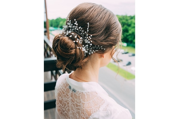 Pick the right wedding hairstyle