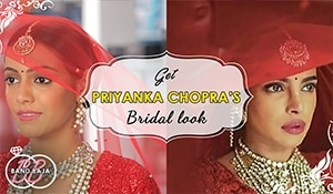 Brides-to-be rejoice! We've decoded PeeCee's red wedding makeup look for you…