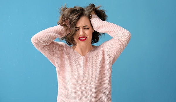 Can stress lead to skin woes? We investigate...