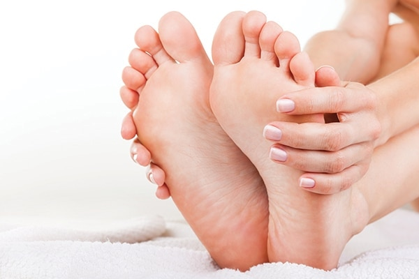 BB: What's the best way to care for your feet in the monsoon months?