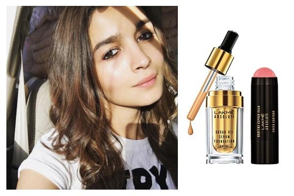 Alia bhatt's clean fresh look