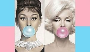 Chew on this! The bubble gum beauty trend is what you need!