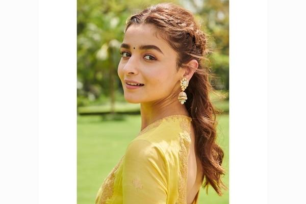 Vouching for crown braids, courtesy Alia Bhatt