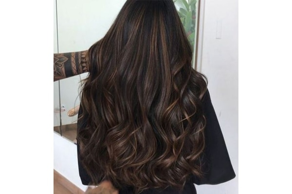 Chocolate hair colour trend