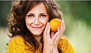 Get glowing skin in winter with some citrusy goodness