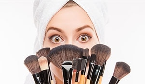 How to clean your makeup brushes like a pro.