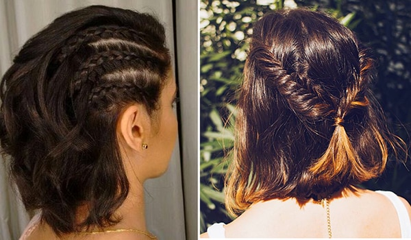 5 super cute braided hairstyles for girls with short hair