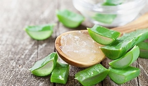 Aloe Vera masks at Home