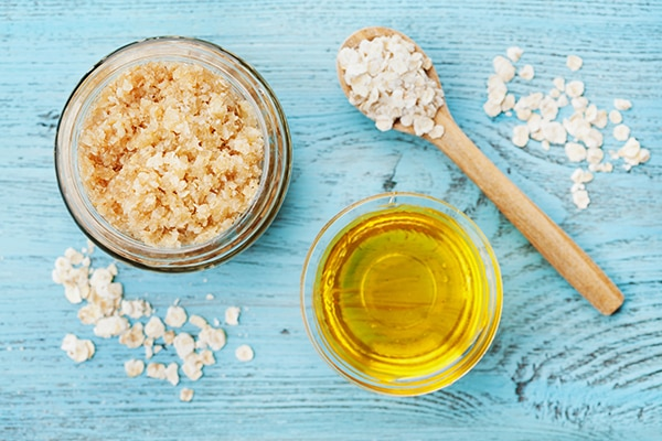 Castor oil and oatmeal