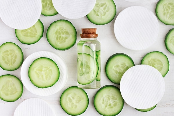 Cucumber and aloe vera mist for dry and sensitive skin