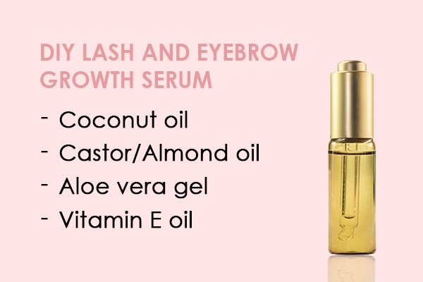 A Diy Serum For Fuller Lashes And Thicker Brows