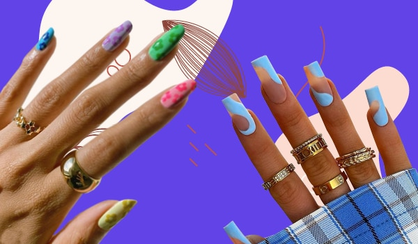 DIY alert! Trendy nail art ideas to try at home this month