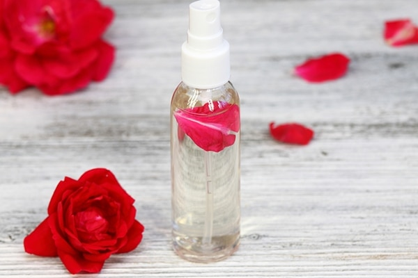 DIY rose water benefits