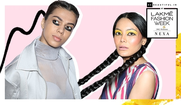 LFW WF'19: From graphic eyes to sleek braids, here's all the beauty action that unfolded on Day 4