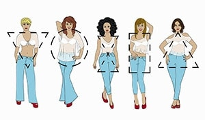 Rock those denim pants with these styling tips for your body type