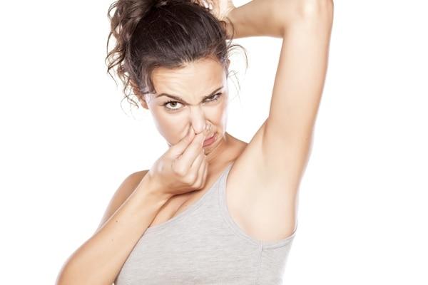 Myth: Your sweat smells