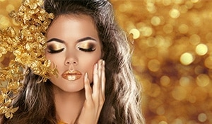This Dhanteras indulge (your skin) in gold and here is why