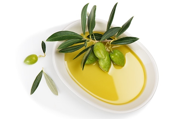 Olive oil for exfoliation