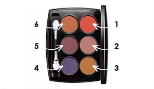 Different ways in which you can use one eyeshadow palette